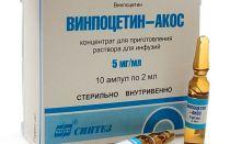 Инструкция по применению Винпоцетина внутривенно