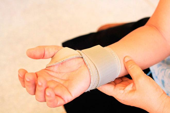 Лечение растяжения связок руки
